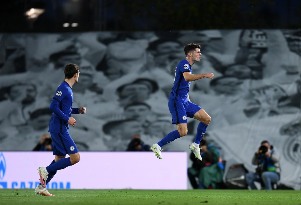 Pulisic, autor del 0-1 / FOTO: Chelsea FC