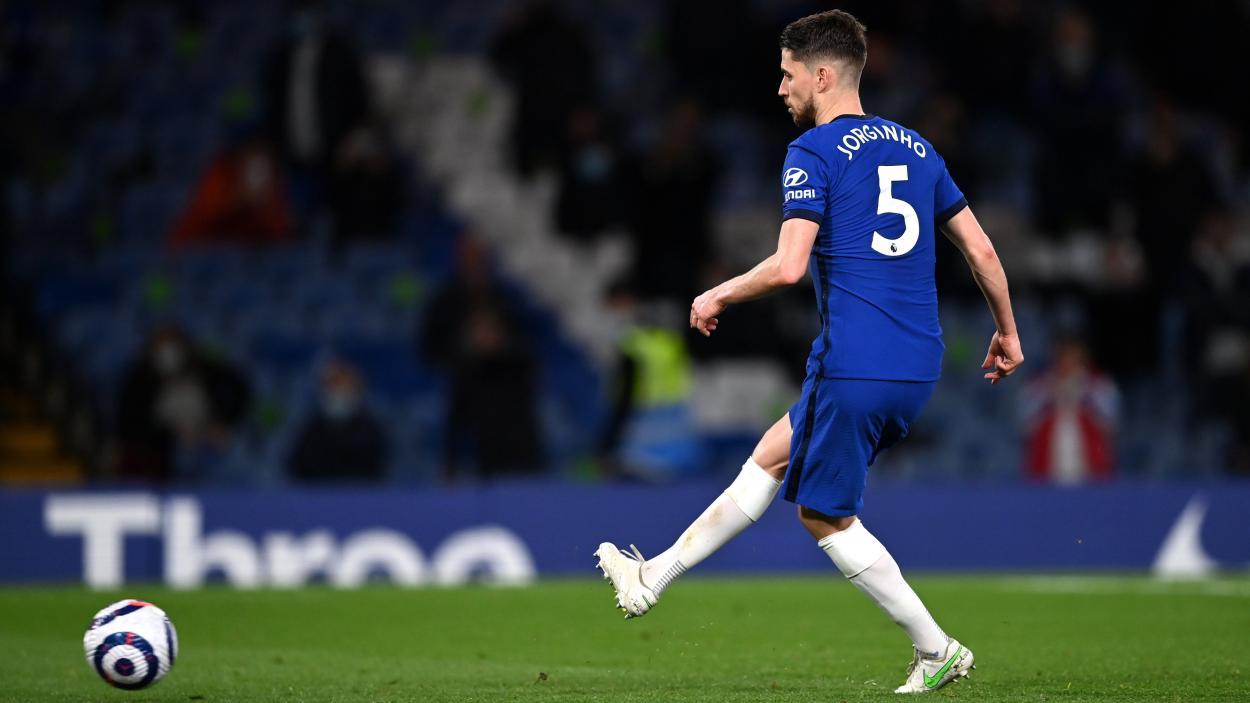 Jorginho convirtiendo el penalti / FOTO: Chelsea FC
