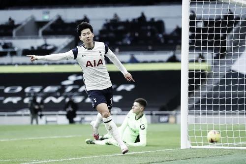 Son convirtió el segundo del partido | Foto: Premier League