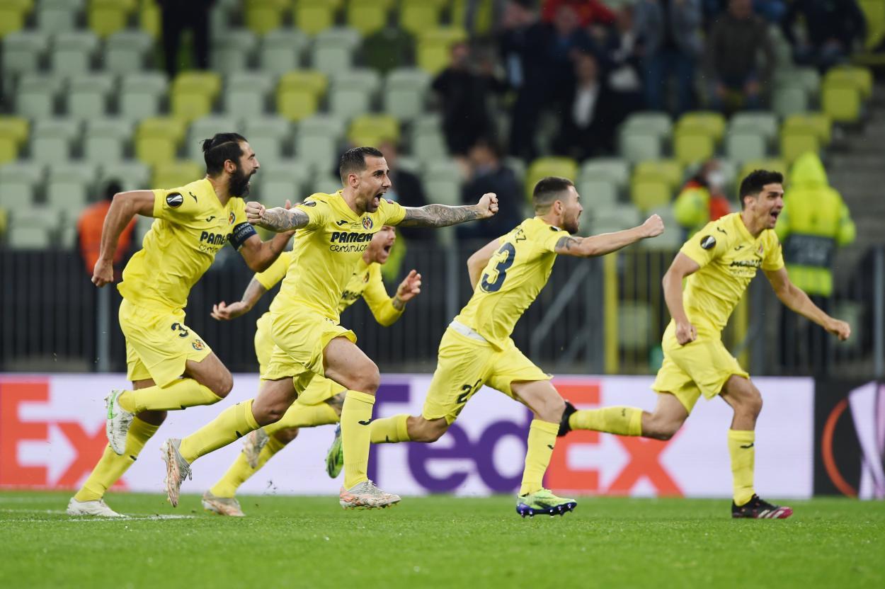 La felicidad inmortalizada / FOTO: Europa League