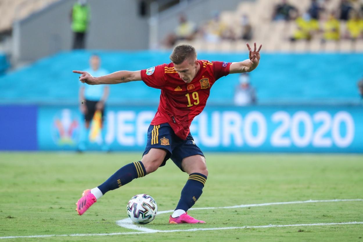 Dani Olmo fue quien más peligro creó / FOTO: Selección Española