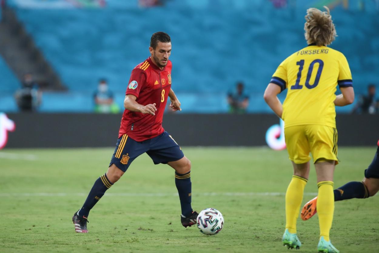 Koke firmó una primera media hora sobresaliente / FOTO: Selección Española