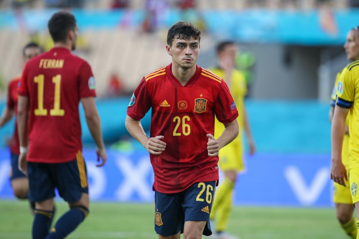 Pedri fue de menos a más / FOTO: Selección Española