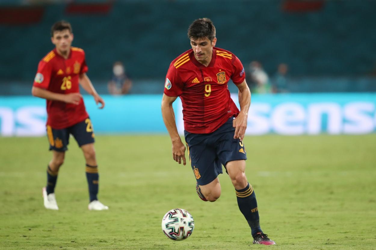 Gerard Moreno exige su puesto / FOTO: Selección Española