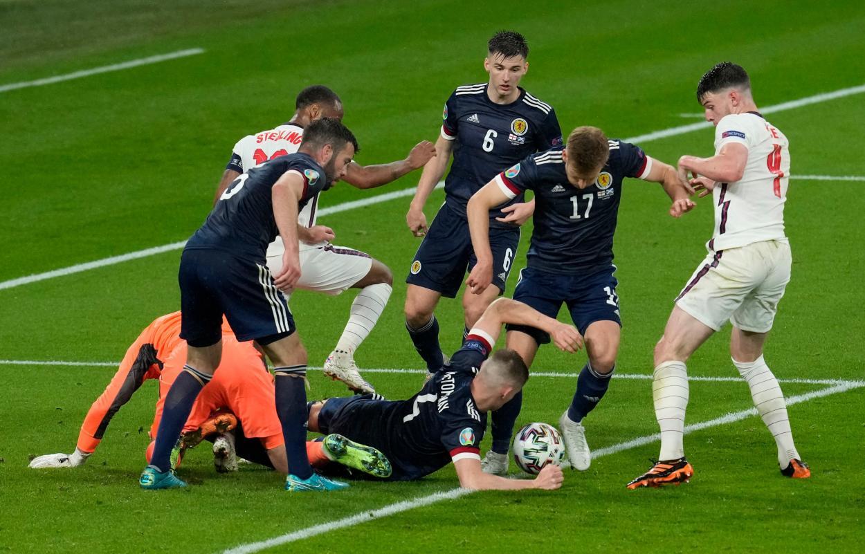 El caos final / FOTO: UEFA