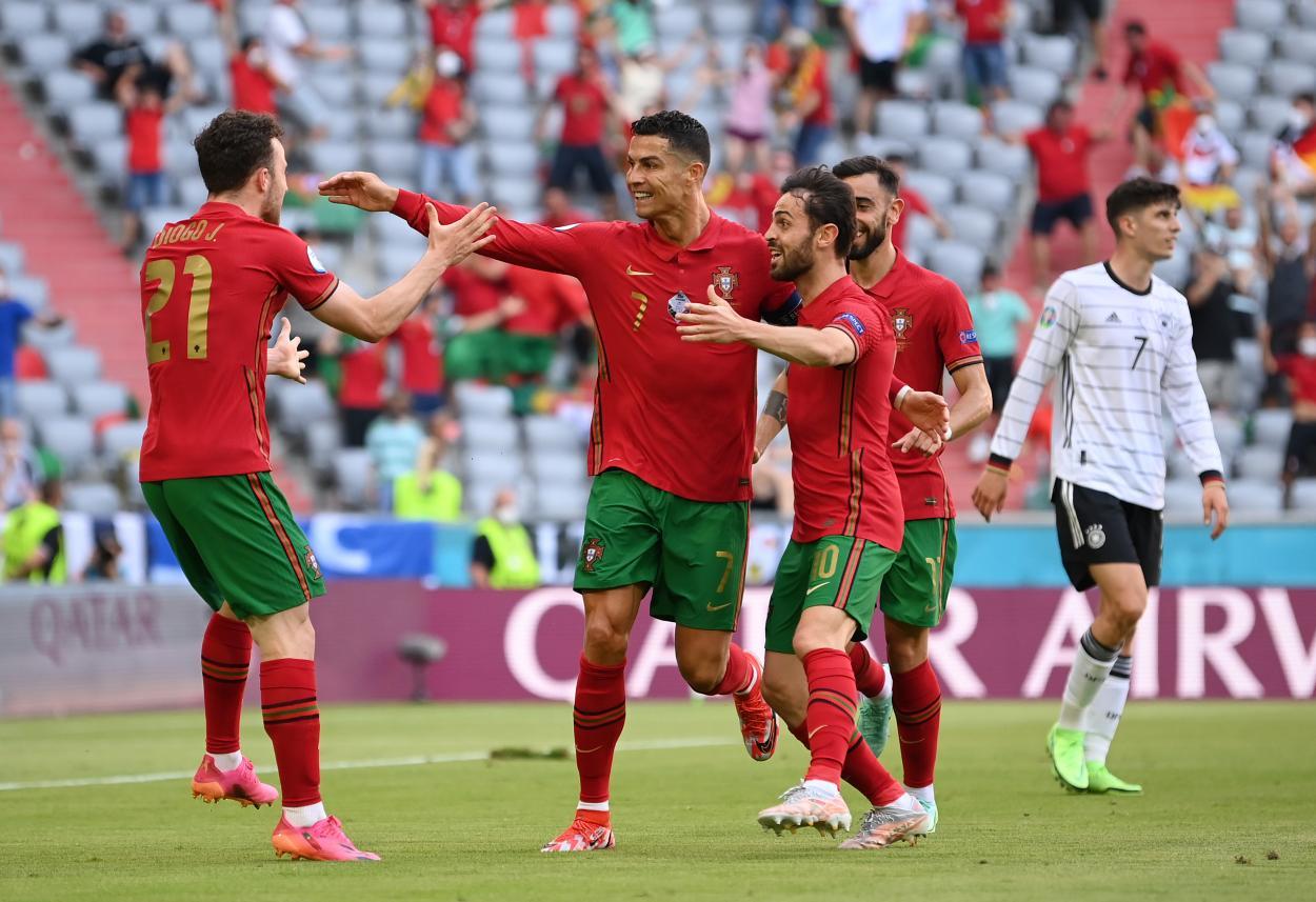 Portugal firmó un contragolpe soberbio para poner el 0-1 / FOTO: UEFA
