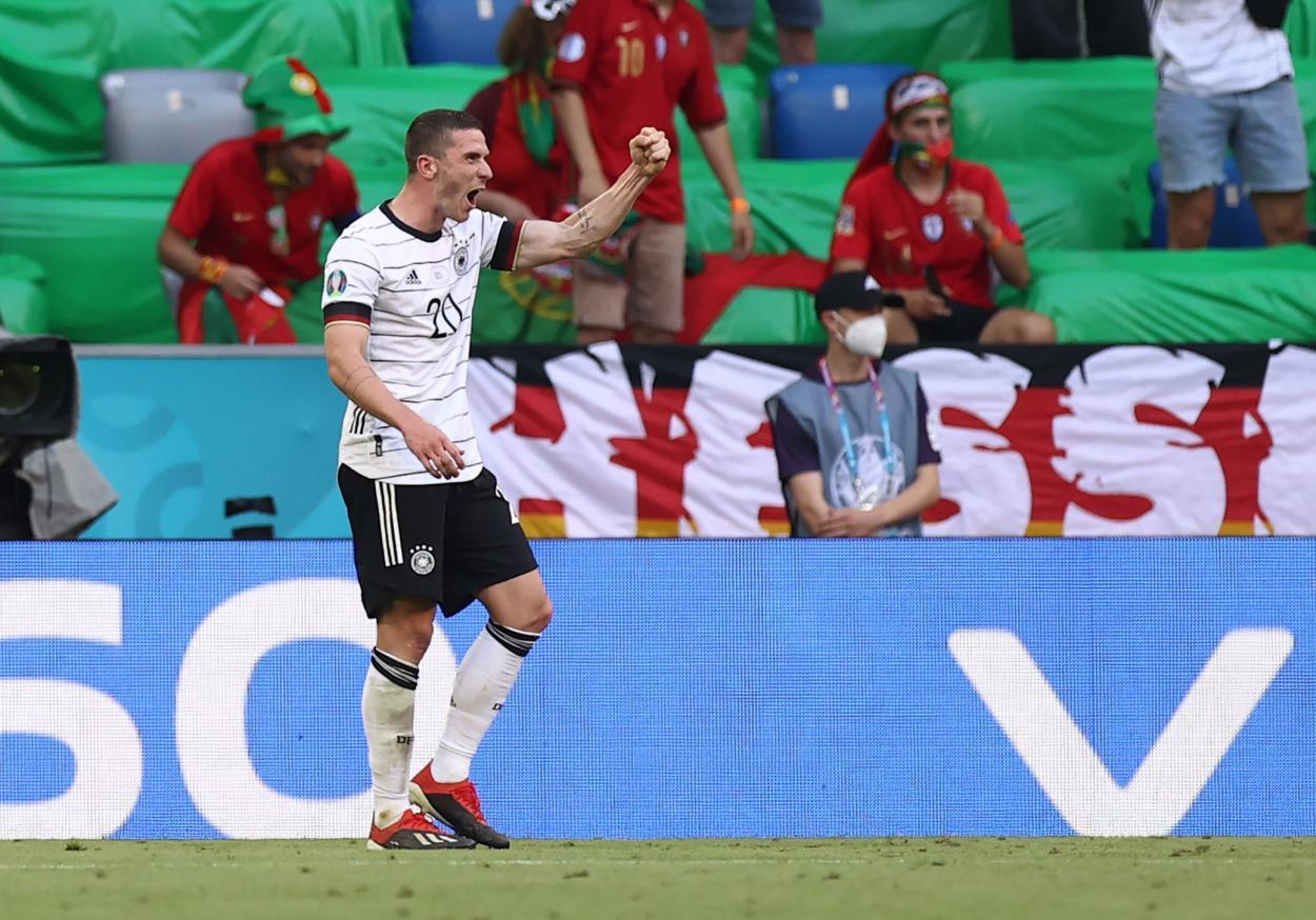 Gosens, MVP del encuentro / FOTO: UEFA