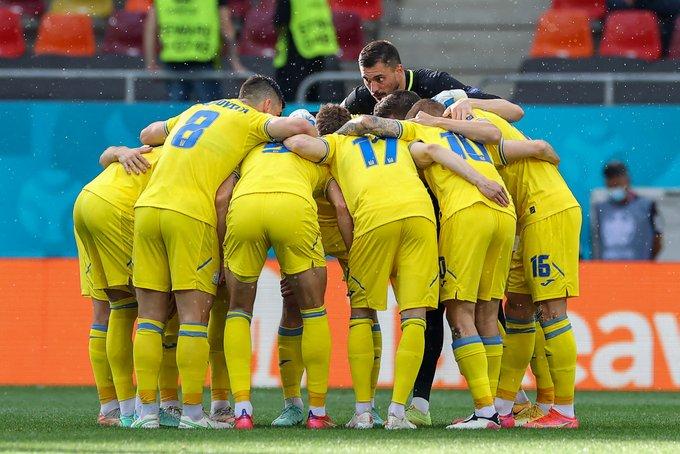 Piña de Ucrania / Foto: UEFA
