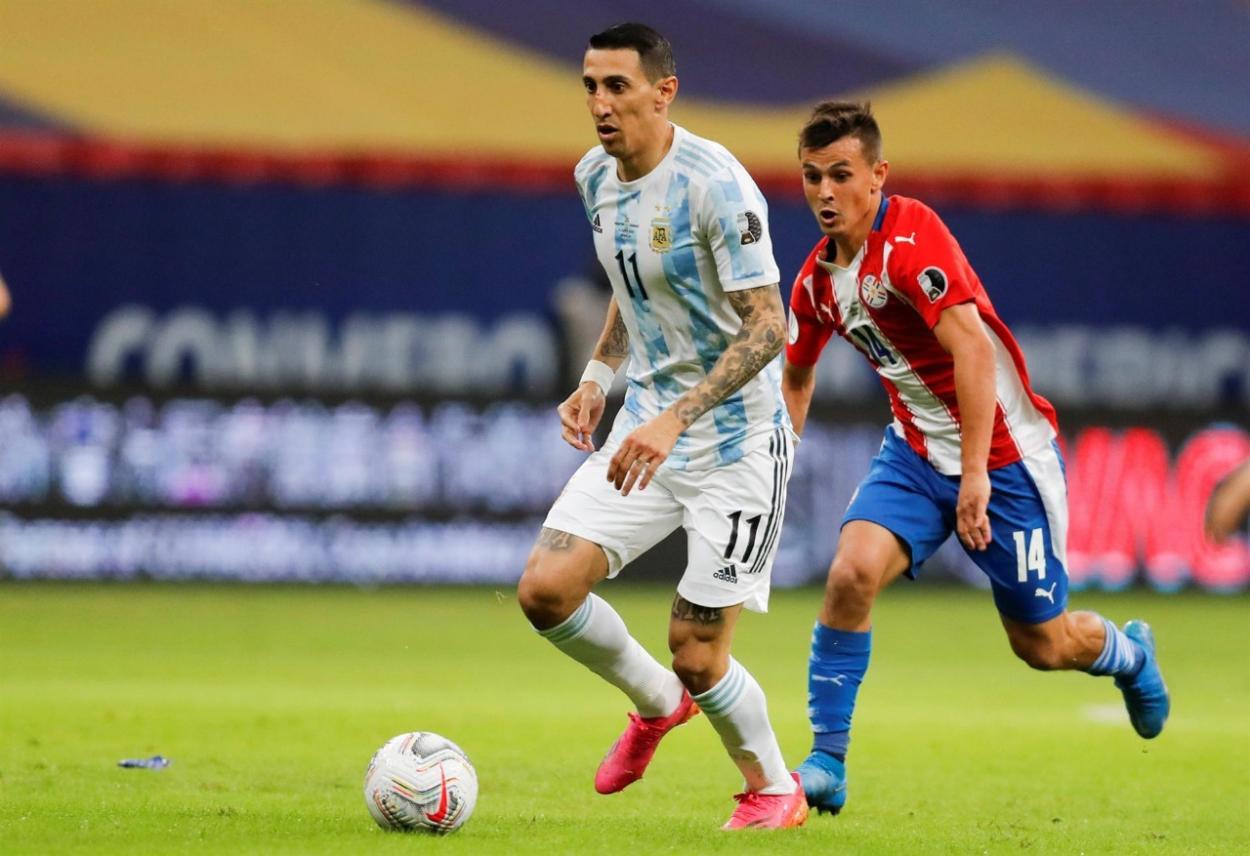 Di María cuajó una actuación notable / FOTO: Copa América
