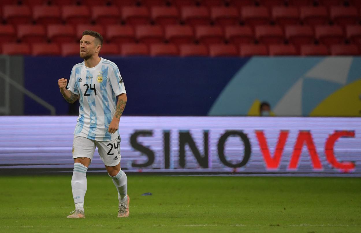 Papu Gómez no tuvo un contexto idóneo para brillar / FOTO: Copa América