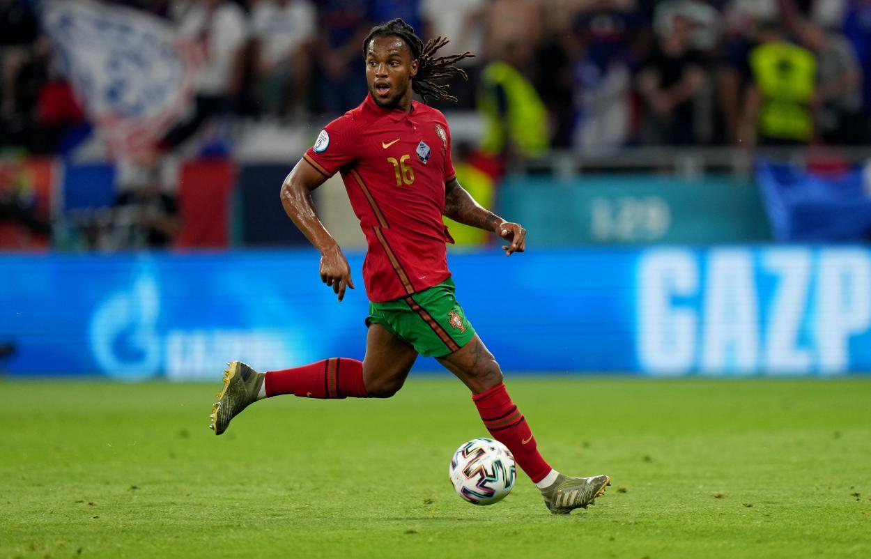 Renato Sanches aportó trabajo al centro del campo / FOTO: UEFA