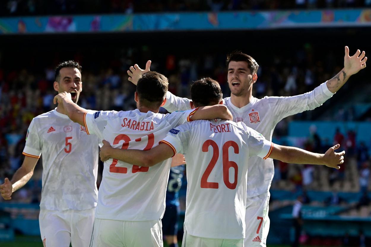 España encontró el gol y el camino se aplanó / FOTO: Selección Española