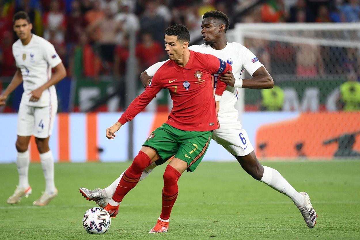 Pogba fue el faro creativo de Francia / FOTO: UEFA