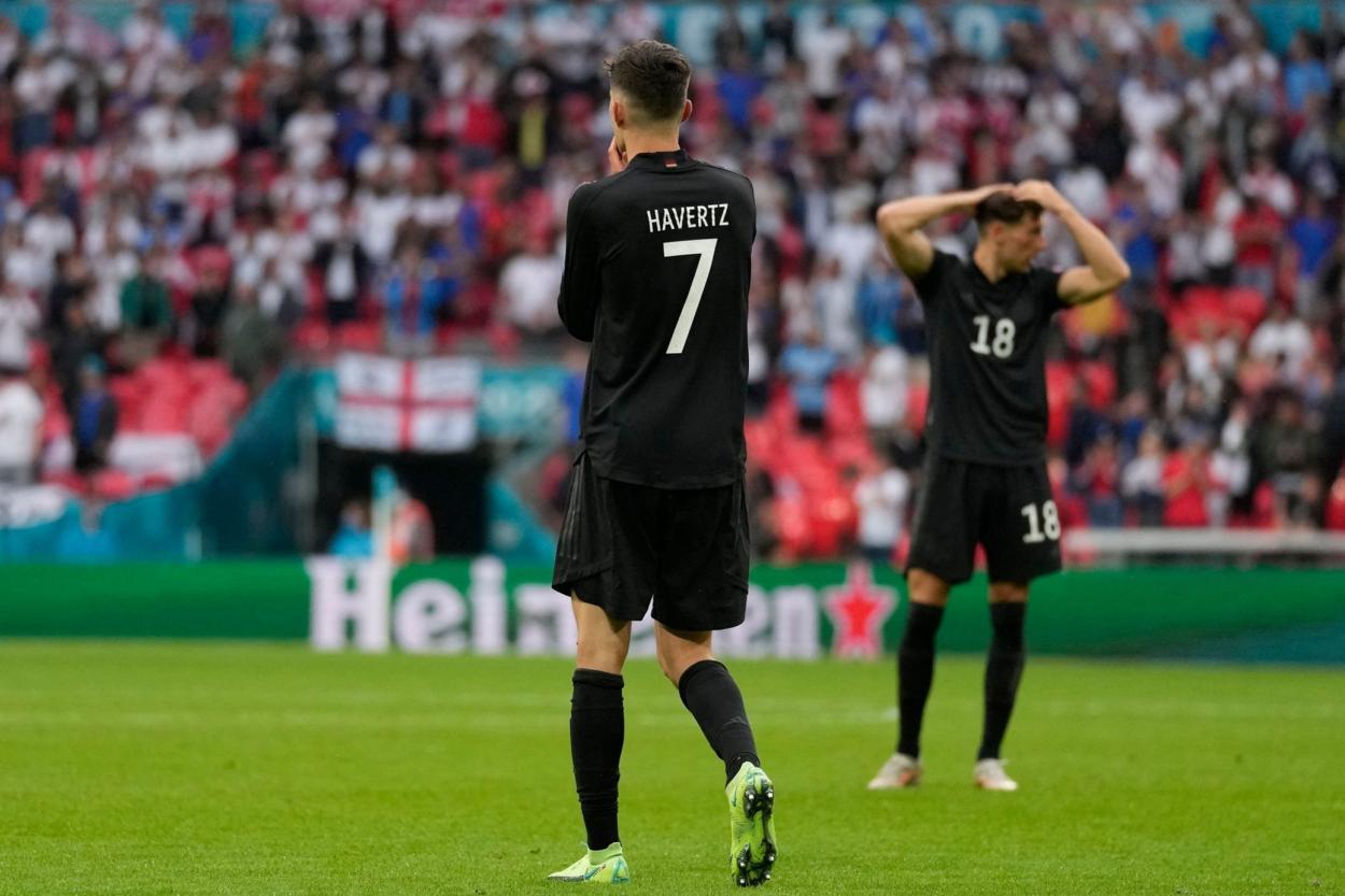 Havertz fue lo diferente en Alemania / FOTO: UEFA