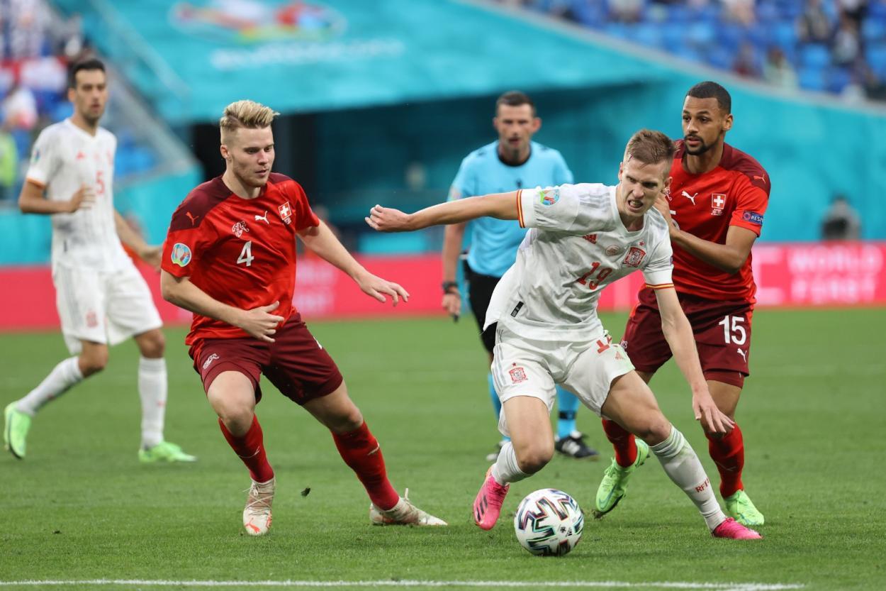 A Dani Olmo le costó entrar en juego / FOTO: UEFA