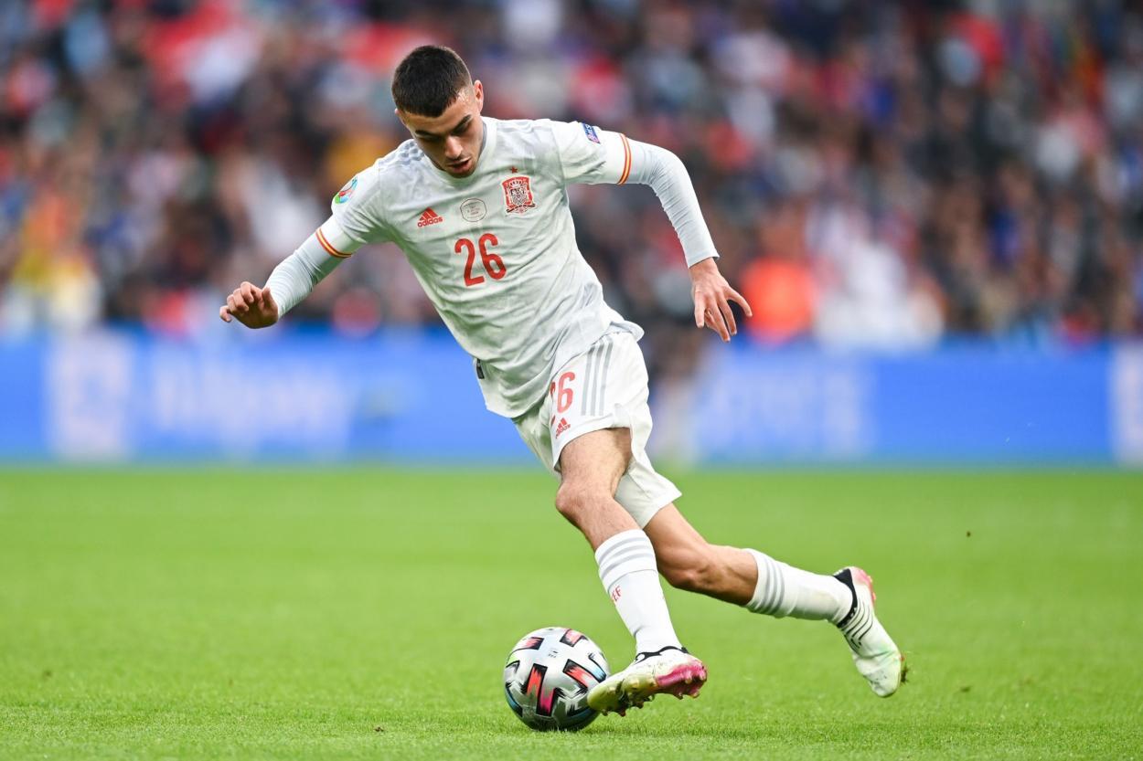 Pedri rozó la excelencia / FOTO: UEFA