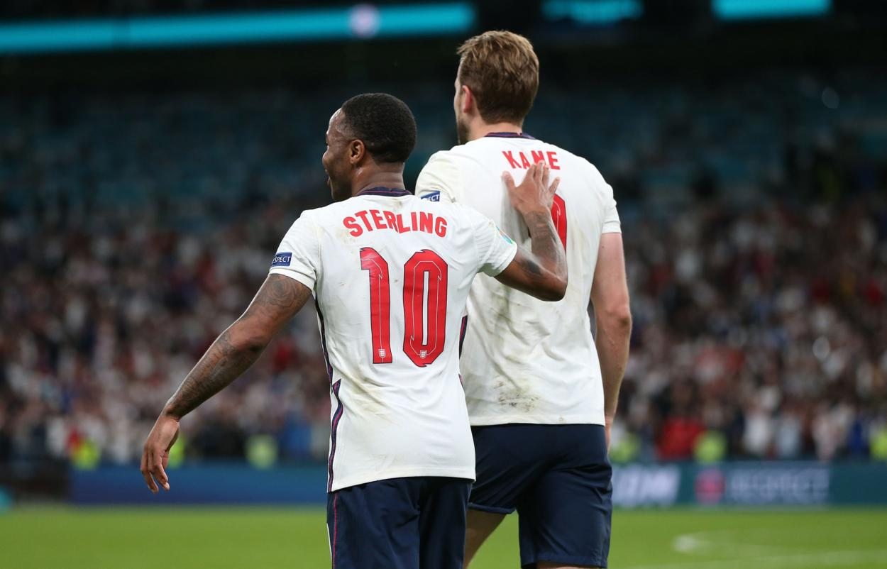Sterling y Kane, el dúo que mueve a Inglaterra / FOTO: UEFA