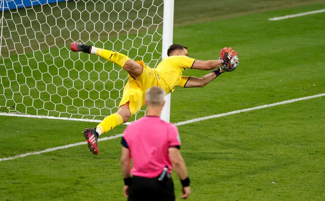 Donnarumma detuvo tres penaltis / FOTO: UEFA
