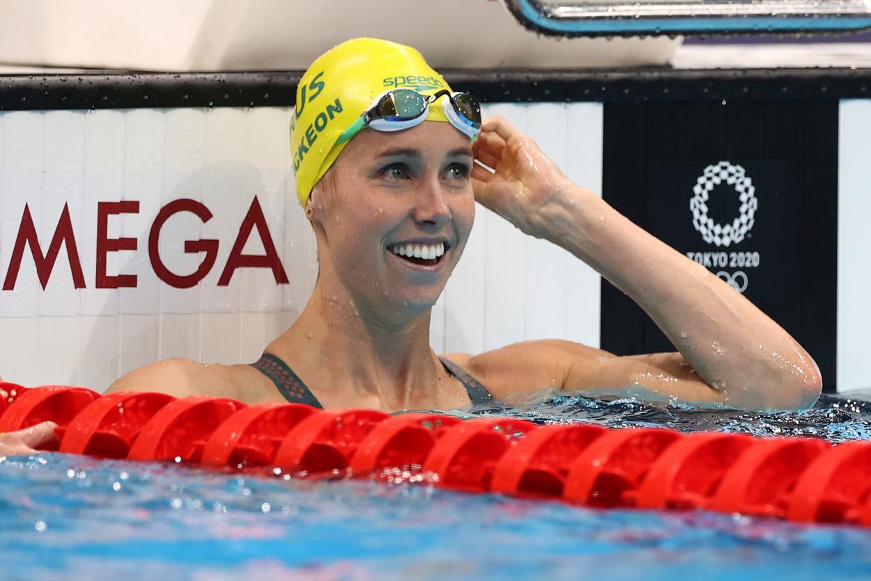 McKeon, la reina del agua para las australianas / <b><a  data-cke-saved-href='https://vavel.com/es/masdeportes/2021/07/28/juegos-olimpicos/1079884-milak-supera-a-phelps-mientras-ledecky-y-titmus-reparten-oros.html' href='https://vavel.com/es/masdeportes/2021/07/28/juegos-olimpicos/1079884-milak-supera-a-phelps-mientras-ledecky-y-titmus-reparten-oros.html'>Fuente: FINA</a></b>