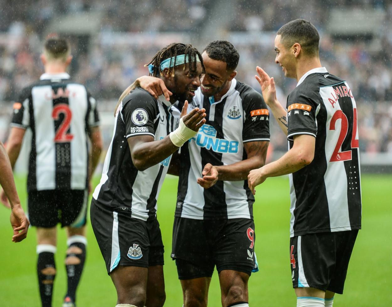 Compañerismo entre los futbolistas del Newcastle / Fuente: Newcastle United