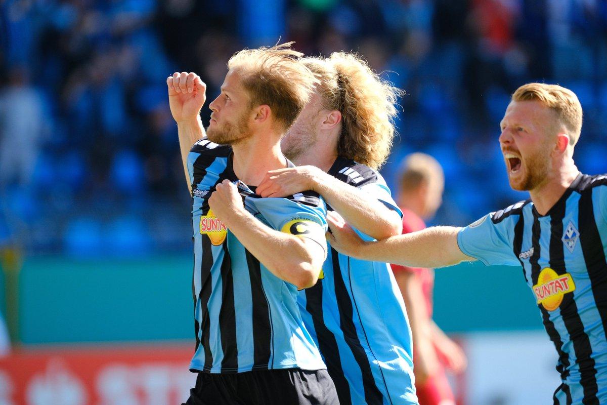 La gran victoria del Waldhof / Foto: @DFB_Pokal