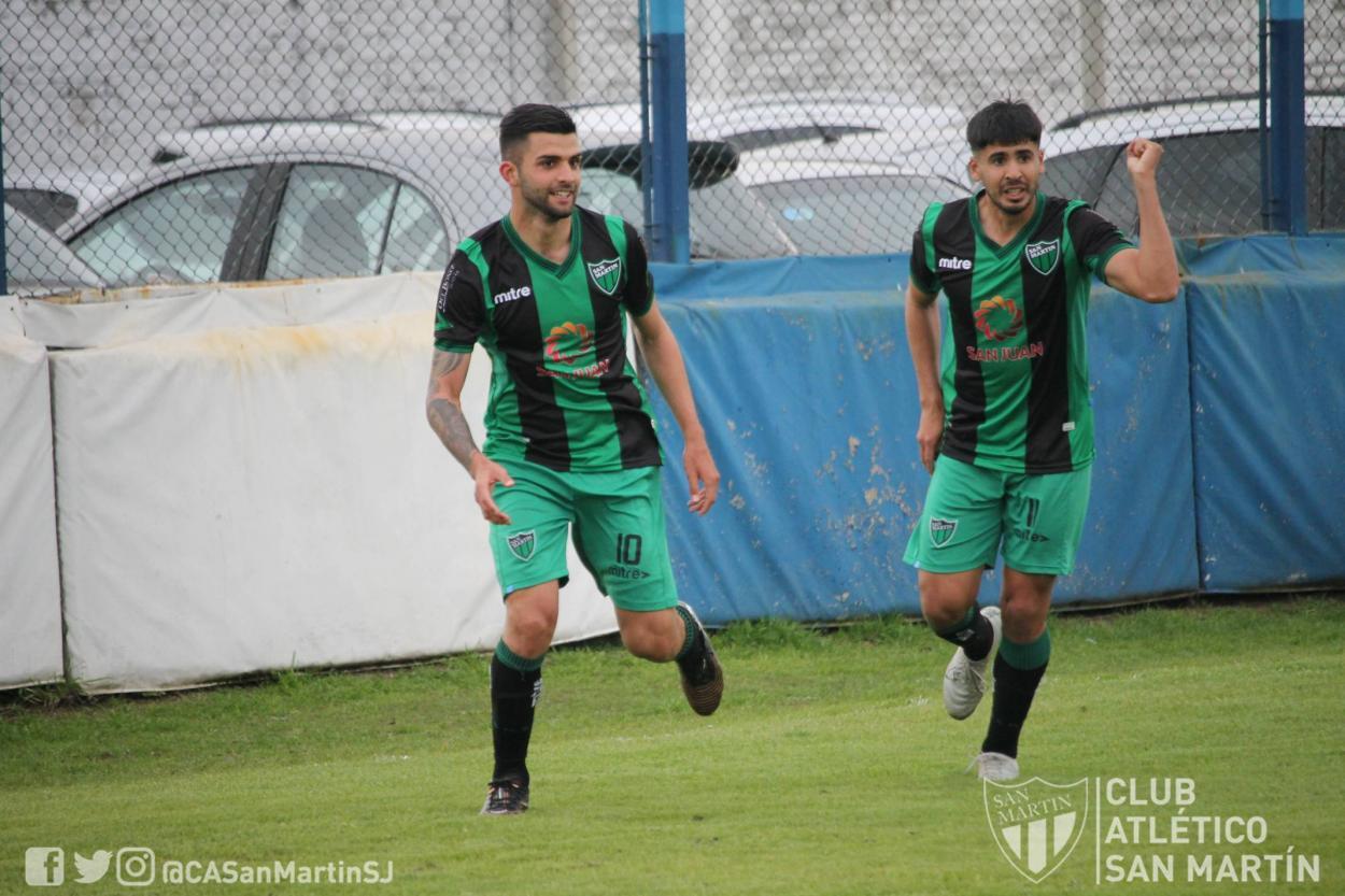 Grito de gol para Mauricio Vera|| Foto: @CASanMartinSJ