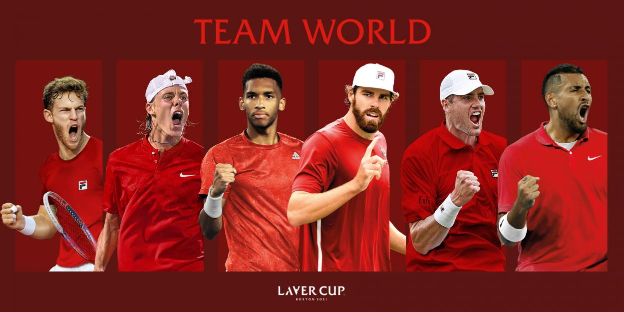 Team World looks to capture their first win (Laver Cup Twiter)