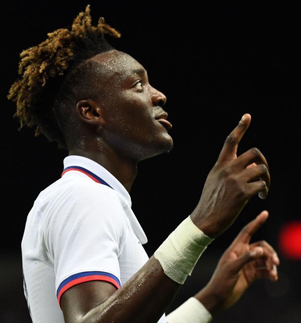 Abraham marcó el 0-1 inicial / Foto: Chelsea FC