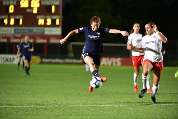 Sky Blue could not find their way to goal throughout the match   Source: skybluefc.com