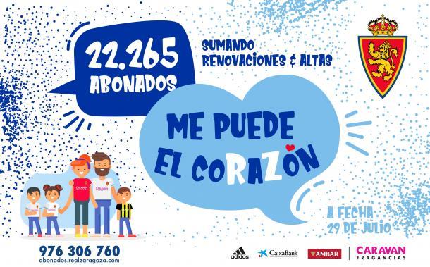 Abonados Real Zaragoza | Foto: Real Zaragoza