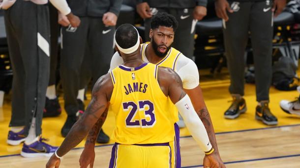 LeBron y Davis // NBA