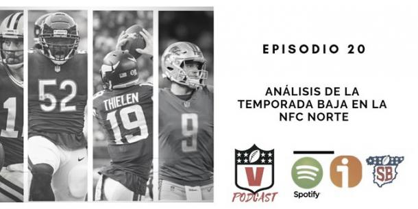 Episodio 20 ya disponible en spotify e ivoox. Foto: NFL Vavel.