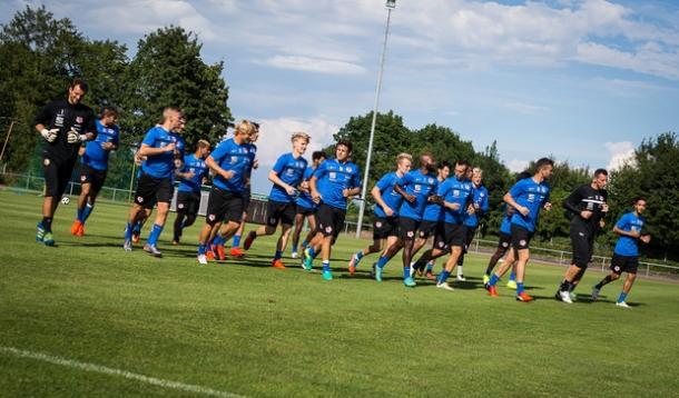 Braunschweig during pre-season training. | Image credit: Eintracht Braunschweig