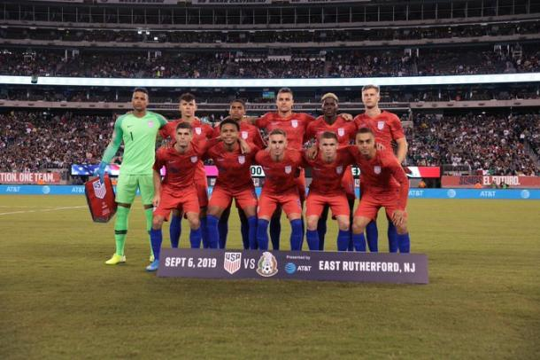 La selección de las barras y las estrellas | Foto: U.S. Soccer