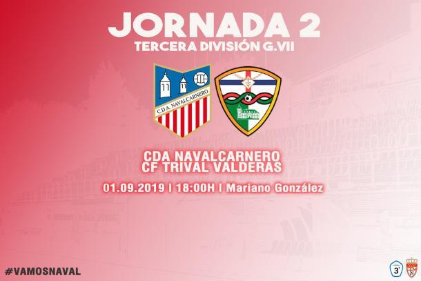 El CDA Navalcarnero ganó en casa al Trival Valderas. Fuente: Twitter del CDA Navalcarnero.