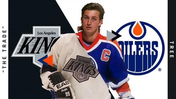 Gretzky fue traspasado a Los Angeles Kings / Sporting News