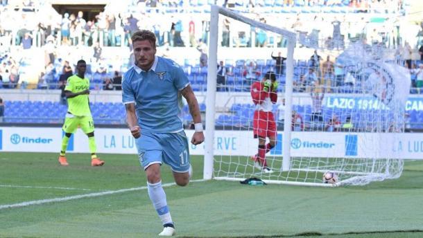 Immobile, uomo copertina in casa Lazio. Fonte foto: lastampa.it