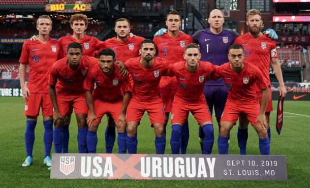 La selección de las Barras y las Estrellas en San Luis, Misuri | Foto: U.S.Soccer