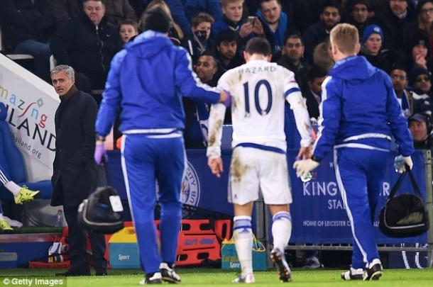 Eden Hazard has struggled with injuries this year. | Photo: Getty Images