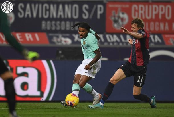 Lazaro tuvo un muy buen debut como titular / Foto: Twitter oficial Inter de Milán