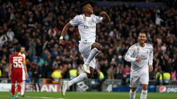 Rodrygo Goes / Fuente: Real Madrid (Twitter)