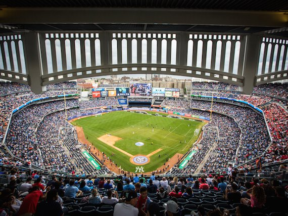 Yankee Stadium en un encuentro del NYCFC (gothamist.com)