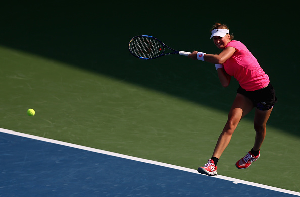 Makarova in action earlier this season (Getty Images/ Francois Nel)