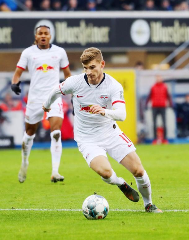Gran presente del delantero alemán | Foto: RB Leipzig