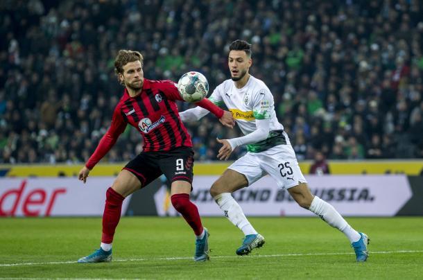 Partido lleno de goles entre Borussia Mönchengladbach y SC Freiburg | Foto: @borussia
