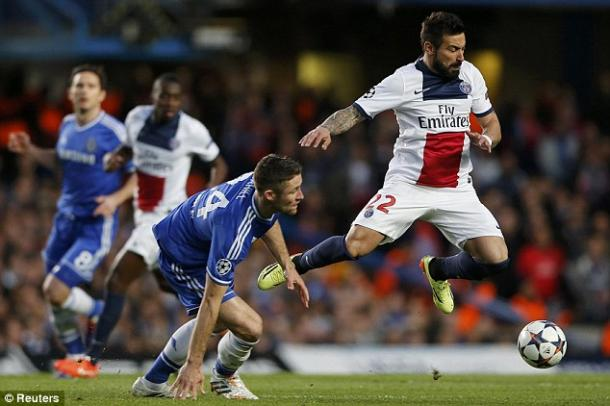 Lavezzi could have been playing with the Blues, had he not opted for a culture change. | Image source: Reuters