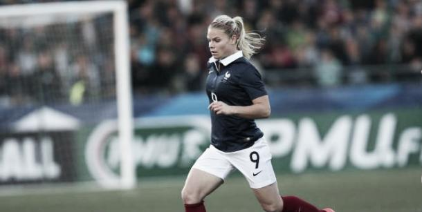 Le Sommer will lead the line for France in Rio | Source: lequipe.fr