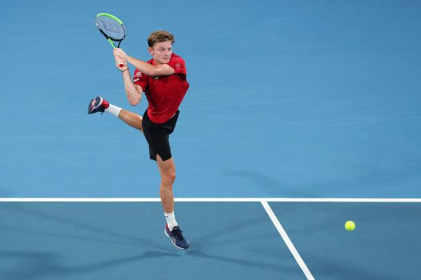 David Goffin, intratable | Foto: ATP Cup