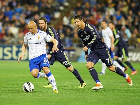El Real Madrid visita La Romareda / Fuente: Twitter del Zaragoza
