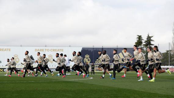 Entrenamiento del Real Madrid / Fuente: Twitter del Real Madrid